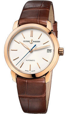 Ulysse Nardin,Ulysse Nardin - Classico Lady - Rose Gold - Leather Strap - Watch Brands Direct