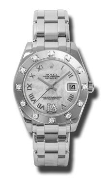 Rolex - Datejust Pearlmaster 34 White Gold - Watch Brands Direct  - 4