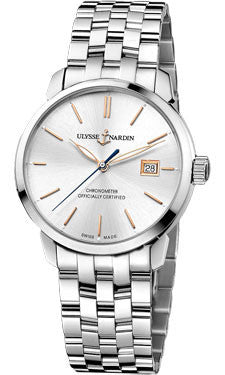 Ulysse Nardin,Ulysse Nardin - Classico Automatic - Stainless Steel - Bracelet - Watch Brands Direct