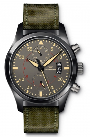 IWC,IWC - Pilots Watch Chronograph Top Gun Miramar - Watch Brands Direct