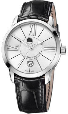 Ulysse Nardin,Ulysse Nardin - Classico Luna - Stainless Steel - Watch Brands Direct