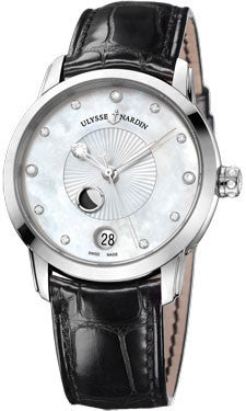 Ulysse Nardin,Ulysse Nardin - Classico Luna - Lady - Stainless Steel - Watch Brands Direct