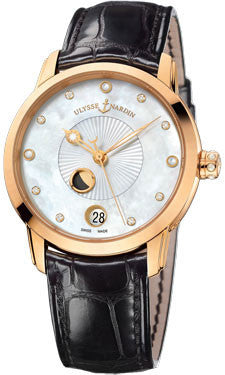 Ulysse Nardin,Ulysse Nardin - Classico Luna - Lady - Rose Gold - Watch Brands Direct