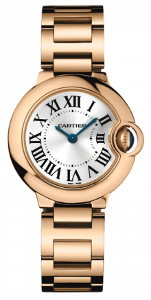 Cartier,Cartier - Ballon Bleu 28mm - Pink Gold - Watch Brands Direct