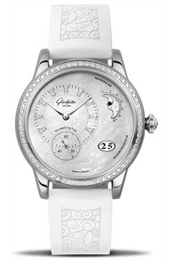 Glashutte Original,Glashutte Original - Ladies Collection - PanoMatic Luna - Watch Brands Direct