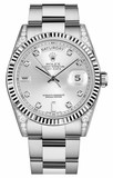 Rolex - Day-Date President White Gold - Fluted Bezel - Diamond Lugs - Watch Brands Direct  - 2