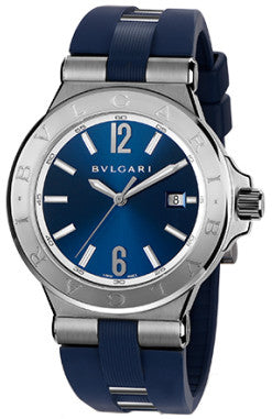 Bulgari,Bulgari - Diagono Automatic 42mm - Stainless Steel - Watch Brands Direct
