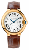 Cartier,Cartier - Ballon Bleu 36mm - Yellow Gold - Watch Brands Direct