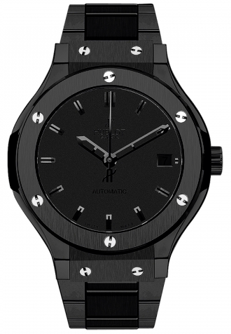 Hublot,Hublot - Classic Fusion 38mm All Black - Watch Brands Direct