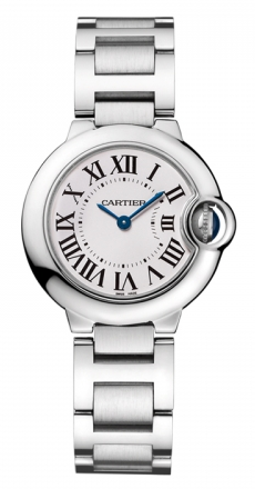 Cartier,Cartier - Ballon Bleu 28mm - Stainless Steel - Watch Brands Direct