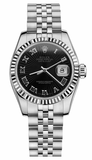 Rolex - Datejust Lady 26 - Steel Fluted Bezel - Watch Brands Direct  - 9