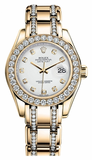 Rolex - Datejust Pearlmaster Lady Yellow Gold - Watch Brands Direct  - 16