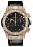 Hublot,Hublot - Classic Fusion 45mm Chronograph - King Gold - Watch Brands Direct