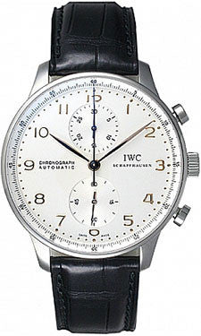 IWC,IWC - Portuguese Chronograph - Stainless Steel - Watch Brands Direct