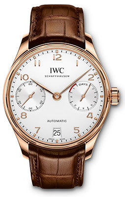 IWC - Portugieser Automatic - Red Gold - Watch Brands Direct