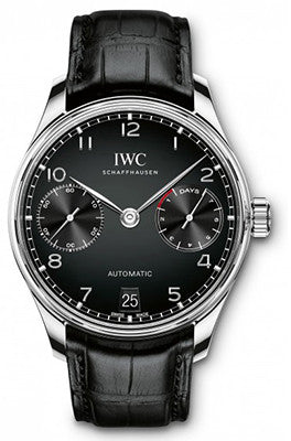 IWC - Portugieser Automatic - Stainless Steel - Watch Brands Direct  - 1