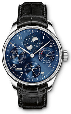 IWC - Portugieser Perpetual Calendar - Perpetual Double Moonphase - Watch Brands Direct