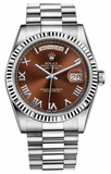 Rolex - Day-Date President White Gold - Fluted Bezel - Watch Brands Direct  - 8
