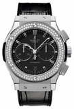 Hublot,Hublot - Classic Fusion 45mm Chronograph - Titanium - Watch Brands Direct