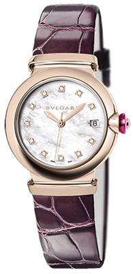 Bulgari - Lucea 33mm - Pink Gold - Watch Brands Direct  - 1