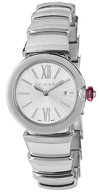 Bulgari,Bulgari - Lucea Quartz 28mm - Stainless Steel - Watch Brands Direct