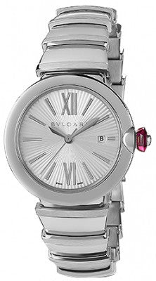 Bulgari,Bulgari - Lucea Automatic 33mm - Stainless Steel - Watch Brands Direct