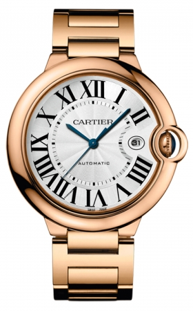 Cartier,Cartier - Ballon Bleu 42mm - Pink Gold - Watch Brands Direct