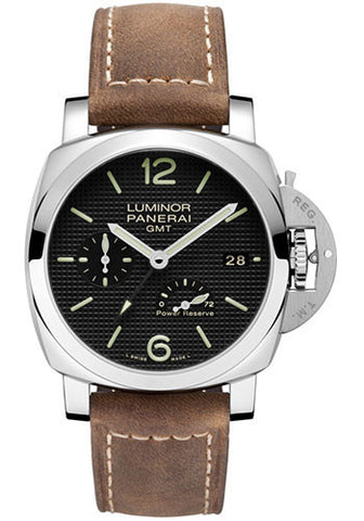 Panerai - Luminor 1950 3 Days GMT Power Reserve Automatic Acciaio - 42mm - Watch Brands Direct