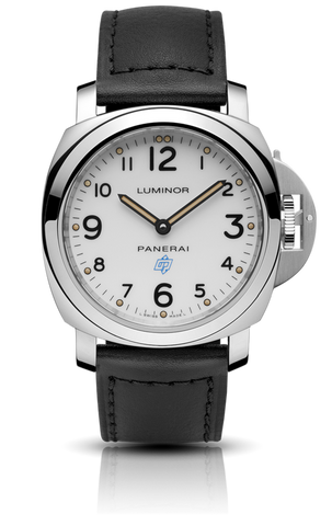 Panerai - Luminor Base Logo Acciaio - 44mm - Watch Brands Direct
