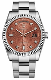 Rolex - Day-Date President White Gold - Fluted Bezel - Watch Brands Direct  - 5