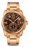 Cartier,Cartier - Calibre de Cartier Automatic Gold - Watch Brands Direct