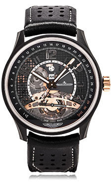 Jaeger-LeCoultre,Jaeger-LeCoultre - AMVOX3 - Tourbillon GMT - Watch Brands Direct
