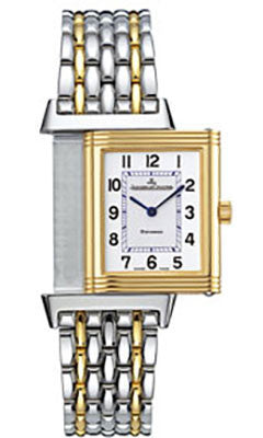 Jaeger-LeCoultre,Jaeger-LeCoultre - Reverso Classique - Stainless Steel And Yellow Gold - Watch Brands Direct