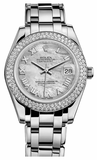 Rolex - Datejust Pearlmaster 34 White Gold - 116 Diamond Bezel - Watch Brands Direct  - 3