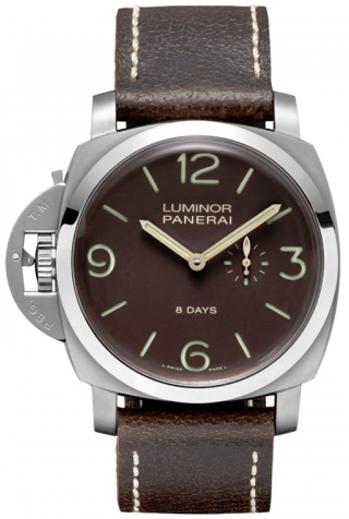 Panerai,Panerai - Luminor 1950 Left-Handed 8 Days - Watch Brands Direct