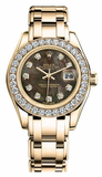 Rolex - Datejust Pearlmaster Lady Yellow Gold - Watch Brands Direct  - 2