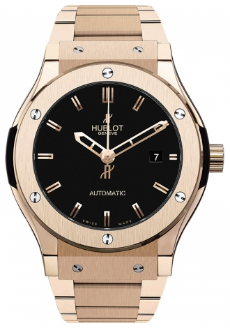 Hublot,Hublot - Classic Fusion 42mm King Gold - Watch Brands Direct