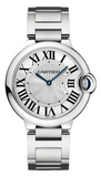 Cartier,Cartier - Ballon Bleu 36mm - Stainless Steel - Watch Brands Direct