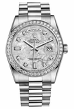 Rolex - Day-Date President Platinum - Diamond Bezel - President - Watch Brands Direct  - 4
