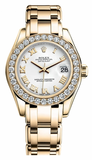 Rolex - Datejust Pearlmaster Lady Yellow Gold - Watch Brands Direct  - 7