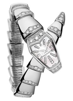 Bulgari,Bulgari - Serpenti - 26mm - White Gold and Diamonds - Watch Brands Direct