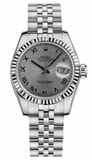 Rolex - Datejust Lady 26 - Steel Fluted Bezel - Watch Brands Direct  - 47