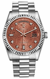 Rolex - Day-Date President White Gold - Fluted Bezel - Watch Brands Direct  - 6