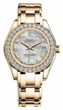 Rolex - Datejust Pearlmaster Lady Yellow Gold - Watch Brands Direct  - 5