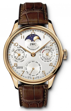 IWC,IWC - Portuguese Perpetual Calendar - Red gold - Watch Brands Direct