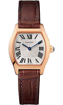Cartier,Cartier - Tortue Small - Pink Gold - Watch Brands Direct