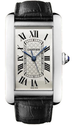 Cartier,Cartier - Tank Americaine Extra Large - White Gold - Watch Brands Direct