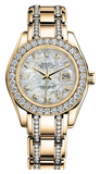 Rolex - Datejust Pearlmaster Lady Yellow Gold - Watch Brands Direct  - 11