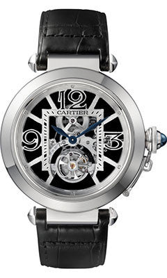Cartier,Cartier - Pasha Skeleton Flying Tourbillon - Watch Brands Direct