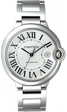 Cartier,Cartier - Ballon Bleu 42mm - Stainless Steel - Watch Brands Direct